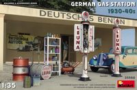 German Gas Station 1930-40s