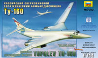 Russian Supersonic Strategic Bomber Tu-160