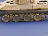 Burn out wheels for Panther Tank