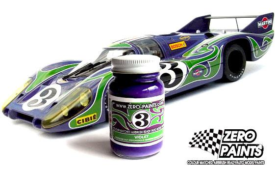 1019 Porsche 917 Purple Hippie (Psychedelic Martini Racing Team) - Image 1