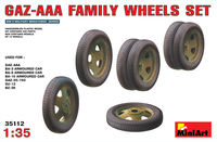 Soviet GAZ-AAA Family wheels set - Image 1