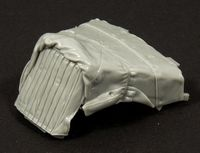 Opel Blitz engine deck with canvas cover (TAMIYA Kit) - Image 1