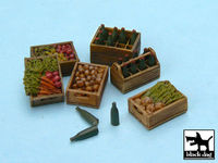 Food supplies #2 accessories set 24 resin parts + bottles - Image 1