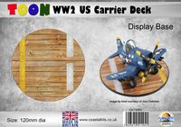 Toon WW2 US Carrier Deck 120mm