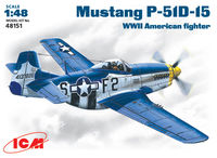 Mustang P-51D-5 WWII American  fighter - Image 1