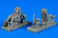 U.S.A.F. pilot & instructor with seats for T-28B trojan Vietnam Figurines x - Image 1
