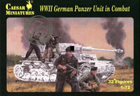 WWII German Panzer Unit in Combat - Image 1