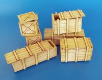 Big wooden boxes - Image 1
