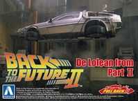 Back To The Future - De Lorean from Part II