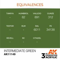 AK 11149 Intermediate Green