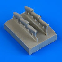 Defiant Mk.I exhaust - rounded exhaust AIRFIX - Image 1