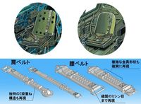 IJN Aircraft Seatbelt Set - Image 1