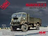 Model W.O.T.6 WWII British truck - Image 1