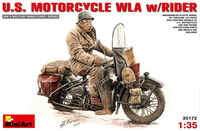 U.S. MOTORCYCLE WLA w/RIDERS
