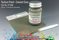 1390 Cement Grey Textured Paint (Engines, Interiors etc)