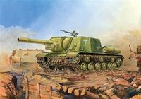 Soviet Self-Propelled Gun ISU-152