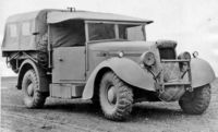 Super Snipe Lorry 8cwt (FFW - Fitted For Wireless)