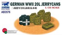 German WWII 20L Jerrycans - Image 1