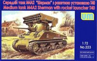 Sherman M4A2 with T40 rocket launcher - Image 1