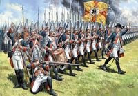 Prussian grenadiers of the Frederick II