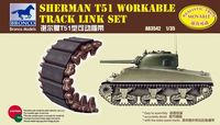 Sherman T51 Workable Track Link Set - Image 1