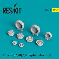 "F-104 (A/B/C/D) ""Starfighter"" wheels set - Image 1"