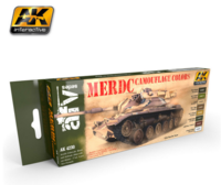 AK 4230 MERDC Camouflage Colors Set