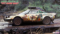 Lancia Stratos HF 1977 Safari Rally