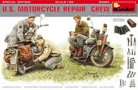 U.S. Motorcycle Repair Crew Toolboxes & Tools added (Special Edition)