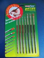 Modeling brush set (7pcs) - Image 1