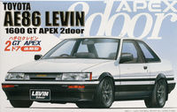AE86 Levin 2Door GT APEX Late - Image 1