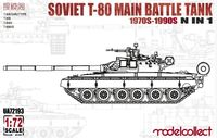 Soviet T-80 Main Battle Tank 1970S-1990S N in 1 - Image 1