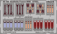 Seatbelts France WWI STEEL