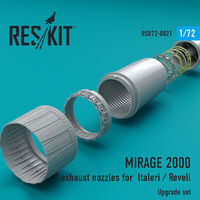 MIRAGE 2000 exhaust nozzles for Italeri / Revell