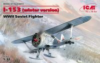 I-153 (winter version) WWII Soviet Fighter - Image 1