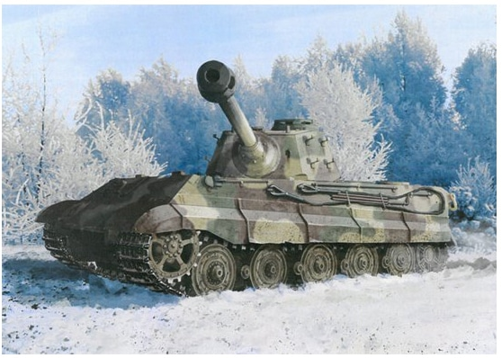 Kingtiger Late Production w/New Pattern Track s.Pz.Abt.506 Ardennes 1944 - Image 1