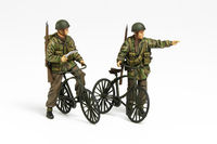 British Paratroopers Set - w/Bicycles - Image 1