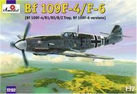 Messerschmitt Bf-109F4/R1/R5/B/Z Trop/F6 versions