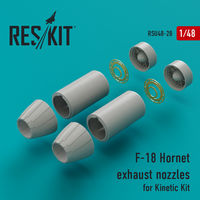 F-18 Hornet exhaust nozzles for Kinetic Kit