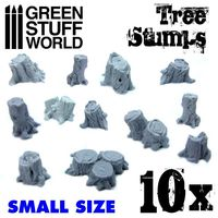 Small Tree Stumps Resin Set - Image 1