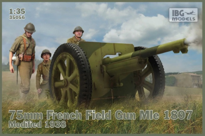 75mm French Field Gun Mle 1897 Modified 1938 - Image 1