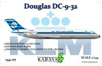 DC-9-32 - PH-DNG City of Rotterdam, PH-DNV City of Warsaw, PH-DNW City of Moscow