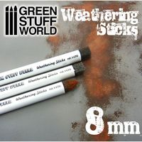 Weathering Sticks 8mm (set 3pc)