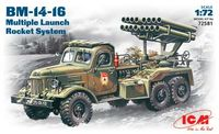 BM-14-16 Soviet Mutiple Launch Rocket System