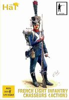 1808-1812 French Light Infantry Chasseurs Action
