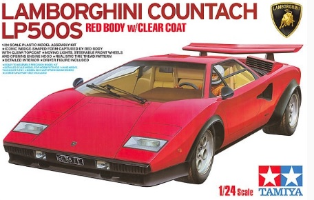 Lamborghini Countach LP500S Red Body w/Clear Coat - Image 1