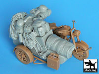 German sidecar accessories set for Master box - Image 1
