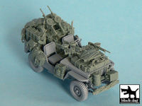 British SAS Jeep north Africa 1942 for Tamiya 32552, 34 resin parts
