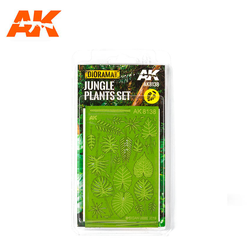 JUNGLE PLANTS SET 1/32 AND 1/35 - Image 1