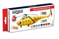 HTK-AS98 British SAR Service paint set.vol.1